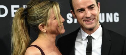 Jennifer Aniston And Justin Theroux put divorce rumors to be false. Photo- inquisitr.com