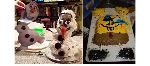 13 bolos que ficaram terrivelmente feios (Foto: Montagem/ Reprodução)