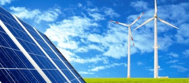A energia solar e a eólica são as mais utilizadas