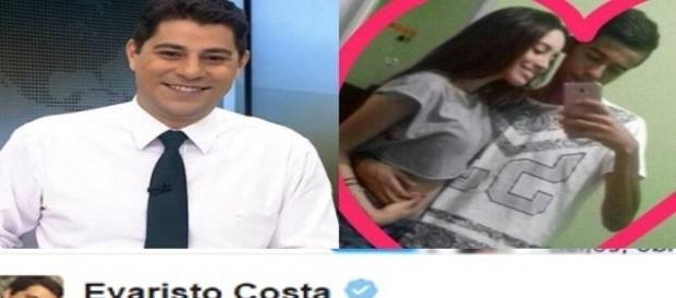 Evaristo Costa viraliza na internet após ajudar casal a ficar junto
