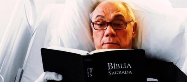 Marcelo Rezende fala em cura espiritual - Google