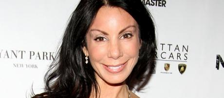 """""""Real Housewives of New Jersey"""" actress Danielle Staub shares her engagement with boyfriend Marty Caffrey. Photo - http://allthingsrh.com"""
