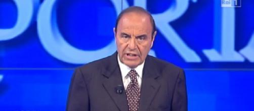 Bruno Vespa conduttore di Porta a Porta