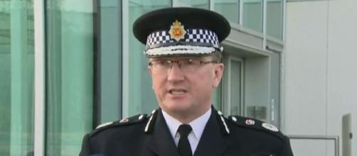 Comunicación de la polícia británica