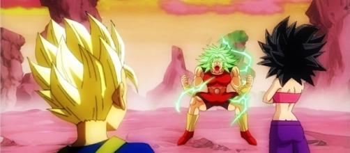 kyabe entrena a Kale en el universo 6