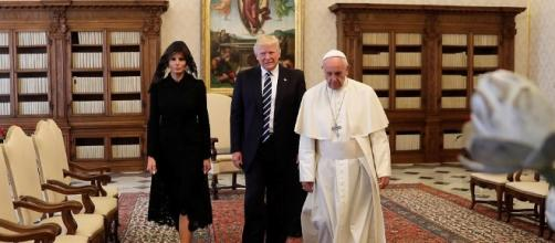 Melania and Ivanka Trump wear black veils to meet the Pope | Daily ... - dailymail.co.uk