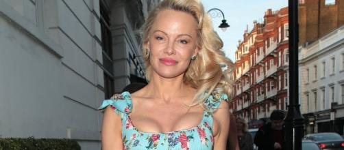 Pamela Anderson strips down in sexy lingerie shoot -- see the hot ... - aol.com