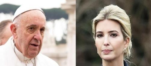 Pope Francis, Ivanka Trump, via Twitter