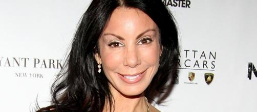"""Real Housewives of New Jersey"" actress Danielle Staub shares her engagement with boyfriend Marty Caffrey. Photo - http://allthingsrh.com"