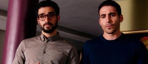 """Um casal de gays da séria """"Sense8"""""""