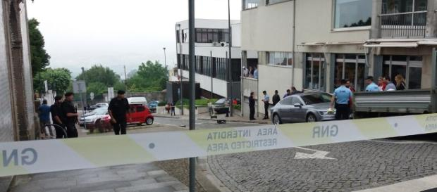 Agente da PSP tenta evitar assalto em Penafiel.
