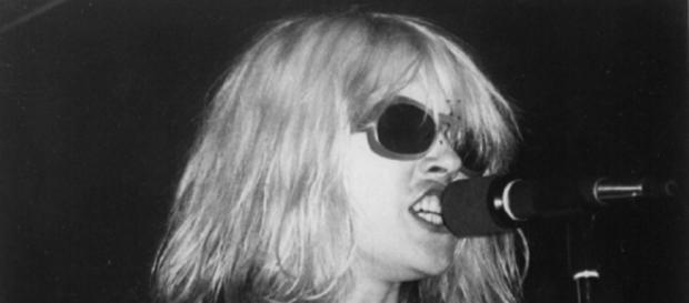 Debbie Harry, lead singer of Blondie, which canceled its London concert. Photo via Nick Latzoni-lores, Blondie.net.