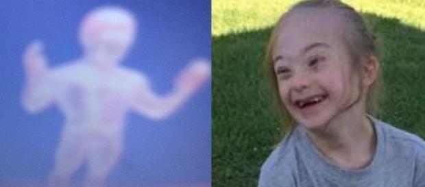 Garoto de 7 anos, portador da Síndrome de Down, faz um registro incrível de si mesmo e muitos dizem se tratar de seu anjo da guarda