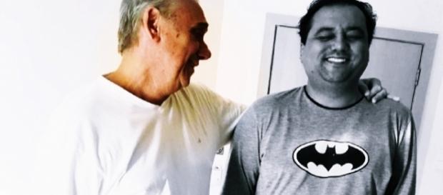 Marcelo Rezende emociona com recado a amigo (Foto: Google)