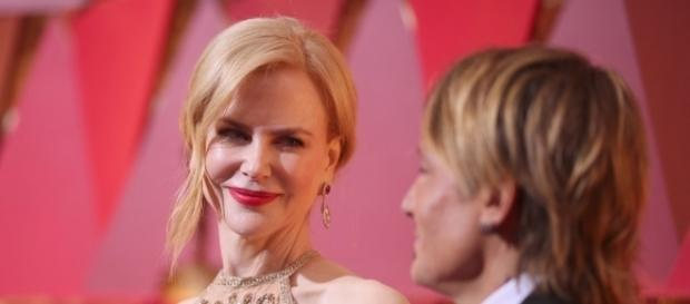Nicole Kidman and Keith Urban at the 2017 Oscars | POPSUGAR Celebrity - popsugar.com