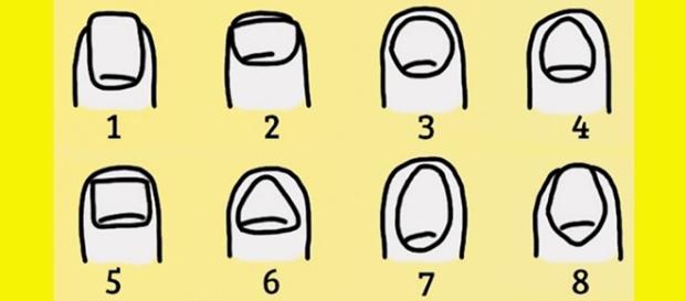 Segundo pesquisas, a forma da unha pode ser um indicador da personalidade