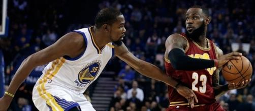 All eyes will be on the Durant-James matchup - Photo via AP - inquirer.net