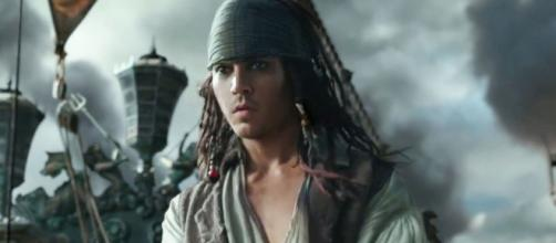 "Johnny Depp returns as Captain Jack Sparrow in the new ""Pirates"" movie - bollywoodlife.com"
