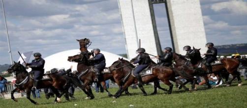 Planalto convocou Exército em Brasília