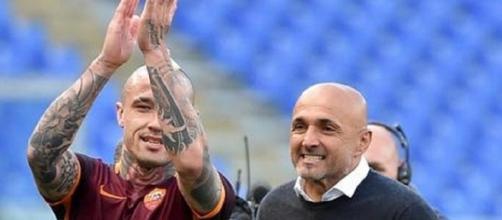 Radja Nainggolan e Luciano Spalletti: entrambi all'Inter nella prossima stagione?