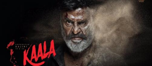 Rajinikanth's first look from his upcoming film 'Kaala'