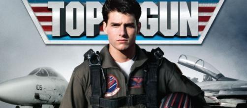 Tom Cruise l'attore protagonista di Top Gun