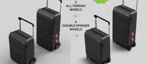 Xtend Luggage is being funded in part through a Kickstarter campaign. / Photo via Jerome Tricault, Xtend Luggage. Used with permission.