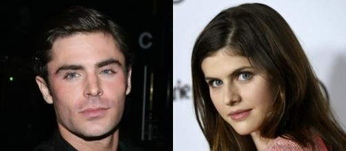 Zac Efron is said to be dating Alexandra Daddario in silence? The pair has yet to speak up. Photo - BN Library