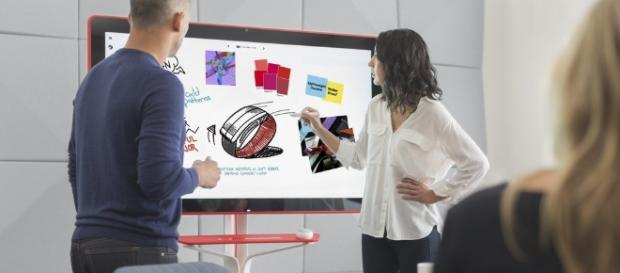 Google's 4K digital whiteboard available for $5000 - tweaktown.com
