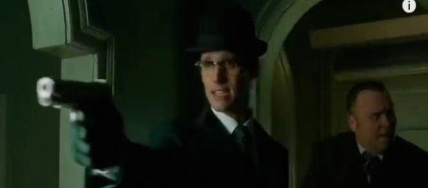 Gotham episode 20 season 3 Riddler screenshot image via Andre Braddox