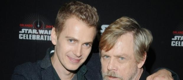 """Star Wars: The Last Jedi"" lastest news hinted the possible return of Anakin Skywalker. Photo - toofab.com"