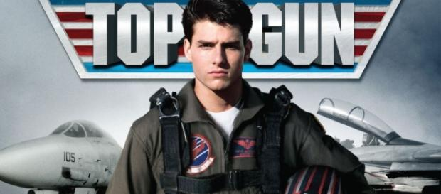 Tom Cruise l'attore protagonista di Top Gun