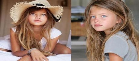 A francesa foi considerada a criança mais bonita do mundo