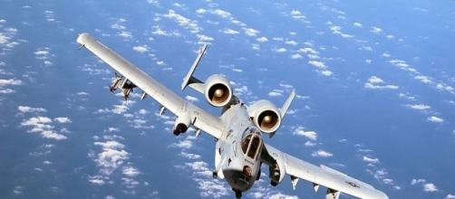 A-10 Thunderbolt II OVER THE MEDITERRANEAN SEA (wikimedia)