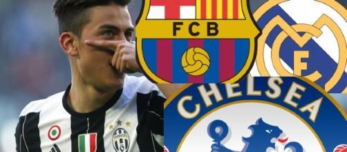 Dybala il Chelese il Barcellona il Real Madrid
