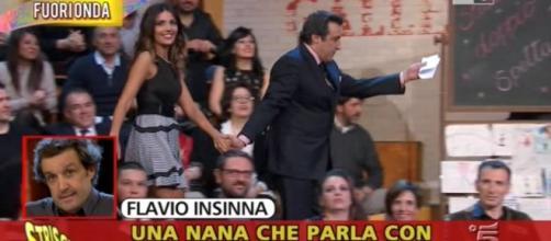 Flavio Insinna si è sfogato su Facebook dopo i servizi di Striscia la notizia