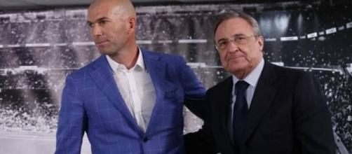 """Florentino Pérez y """"Zizu"""" quieren el mejor equipo para la próxima temporada"""