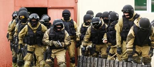 Forze speciali in azione antiterrorismo