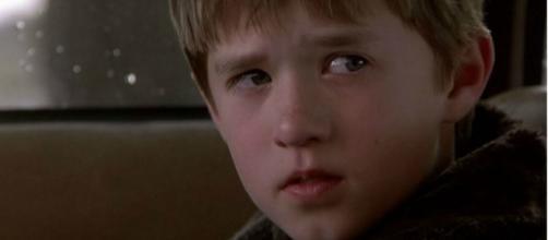 """Haley Joel Osment em """"O Sexto Sentido"""""""