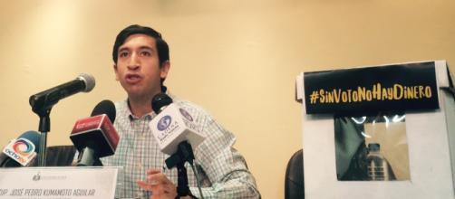 Pedro Kumamoto sigue adelante con su propuesta para reducir presupuesto a Partidos Políticos