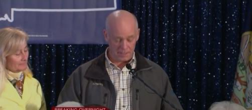 Rep. Greg Gianforte (R-MT) apologizing on election night. / Image screenshot by CBS This Morning via https://youtu.be/2rHX023p-hk