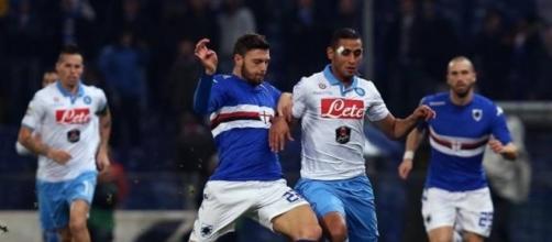 Sampdoria-Napoli 1-1: gol di Eder, pari di Zapata al 92' in dieci ... - gazzetta.it