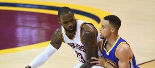 The Warriors and Cavaliers will meet again for the 2017 NBA Finals. [Image via Blasting News image library/gq.com]