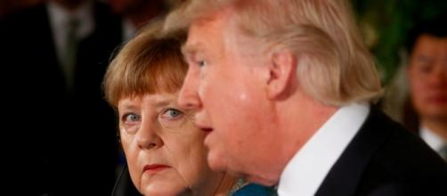 Trump says he had a great meeting with Merkel - Business Insider - businessinsider.com