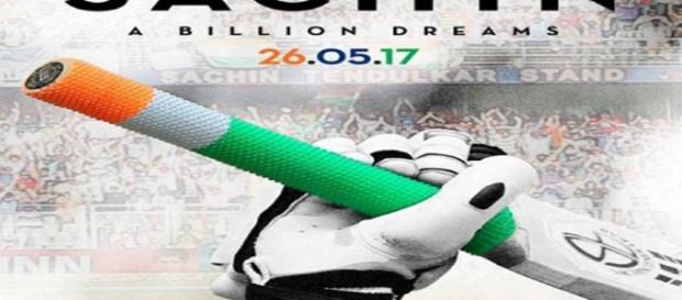 First look poster from 'Sachin: A Billion Dreams' movie