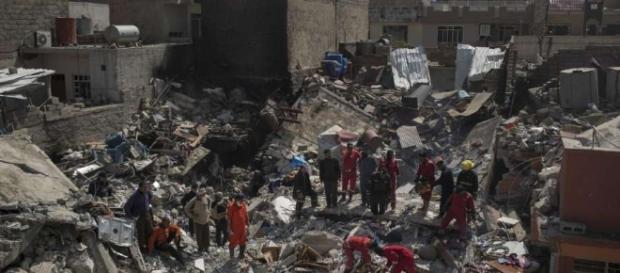 House packed with families became death trap in Iraq's Mosul - The ... - thehour.com
