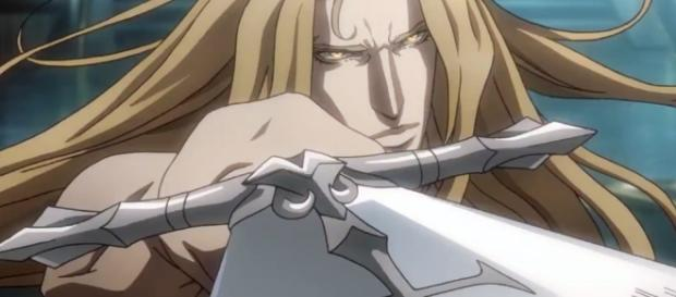 Iconic 'Castlevania' game character Alucard, as depicted in the upcoming Netflix series. - flipboard.com