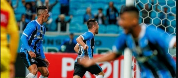 Jogador fez 6 gols já em 2017 (Foto: Carlos Macedo/Agencia RBS)