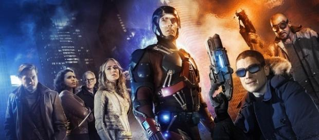"""Legends of Tomorrow"" season 3 poster has been released online. Photo - lrmonline.com"