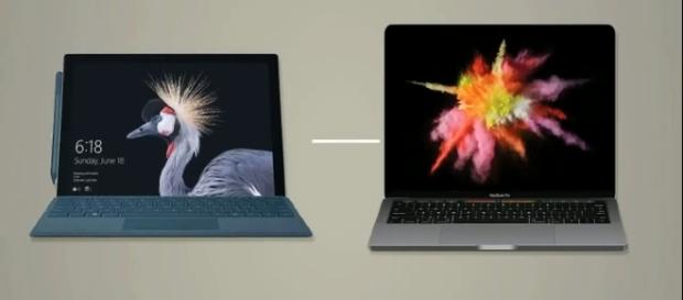 Microsoft Surface vs. Macbook Pro which device performs better? (iTekLab/YouTube/Screenshots)